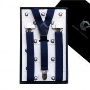 Midnight Blue Y2.5cm Men's Extra Large Braces