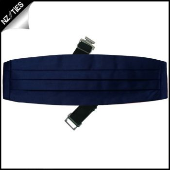 Mens Navy Blue Cummerbund