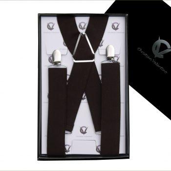 Dark Brown X3.5cm Men's Extra Large Braces