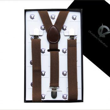 Mid Brown Y2.5cm Men's Braces Suspenders