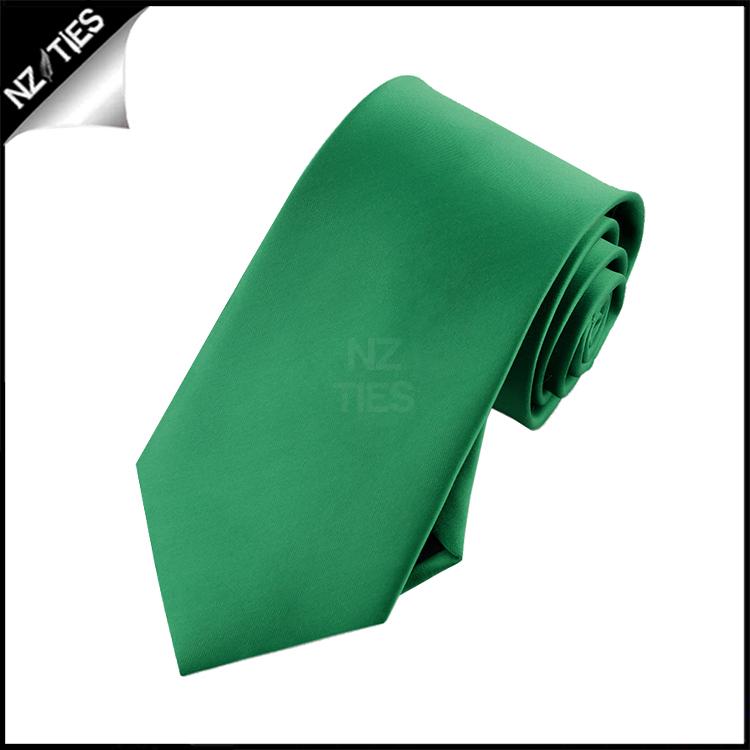 Boys Emerald Green Necktie