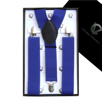 Royal Blue Y3.5cm Men's Braces Suspenders