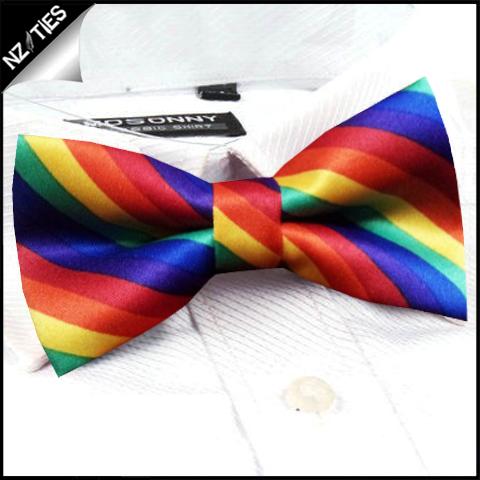 Boys Rainbow (3) Bow Tie