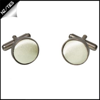 Mens Ivory Champagne Cufflinks