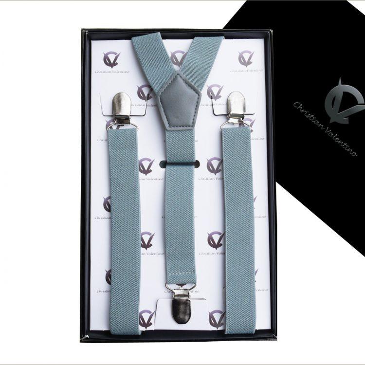 Mid Grey Y2.5cm Men's Extra Large Braces