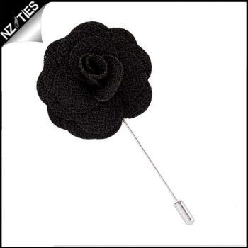 Black Lapel Pin