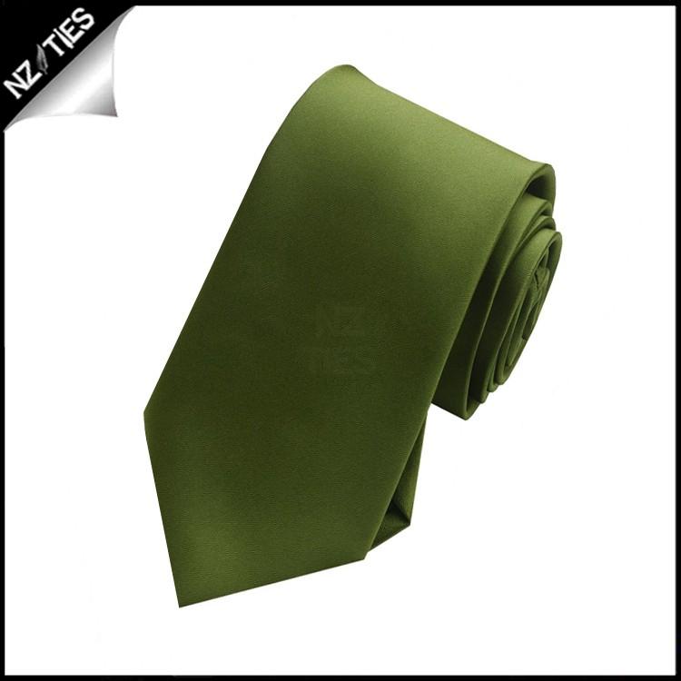 Boy's Olive Green Necktie