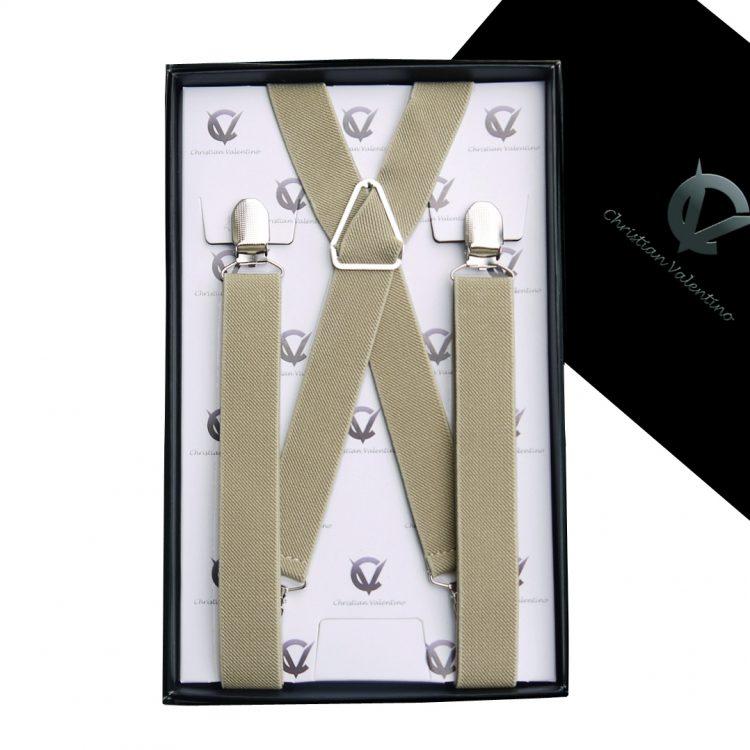 Khaki X2.5cm XL Extra Large Braces