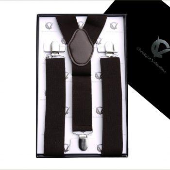 Dark Brown Y3.5cm Men's Braces Suspenders