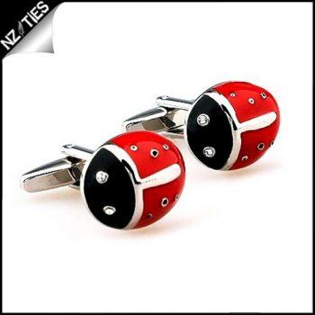 Mens Ladybug / Ladybird Cufflinks