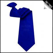 Mens Navy Blue Clip On Necktie