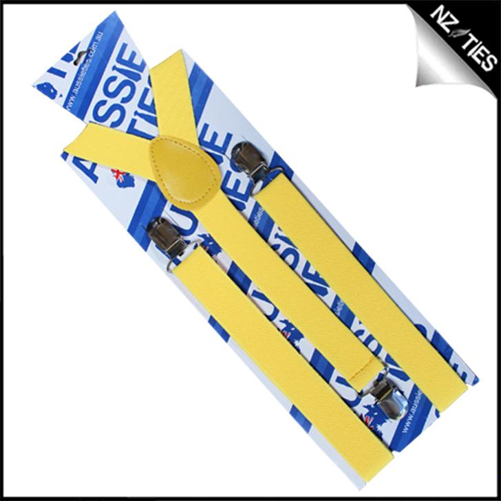 Yellow Braces Suspenders