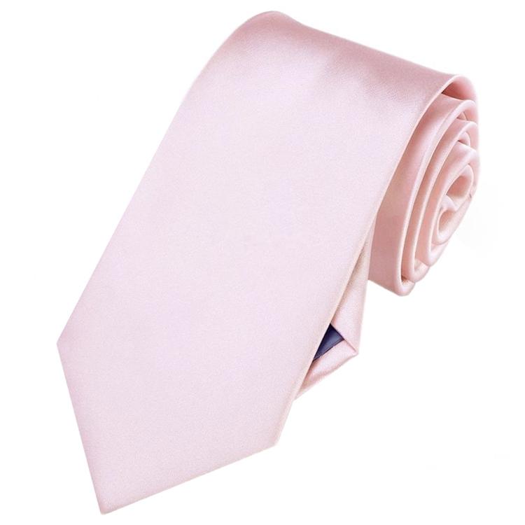 Mens Baby Pink Necktie