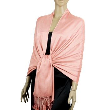 Coral Ladies High Quality Pashmina Scarf