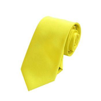 Boys Daffodil Yellow Tie