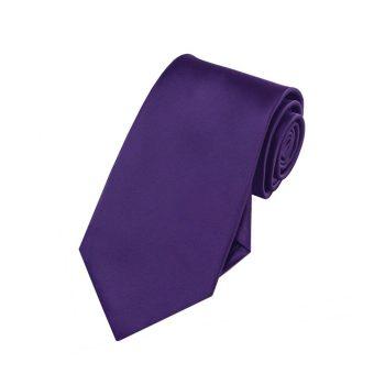 Boys Dark Purple Tie