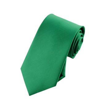 Boys Emerald Green Tie