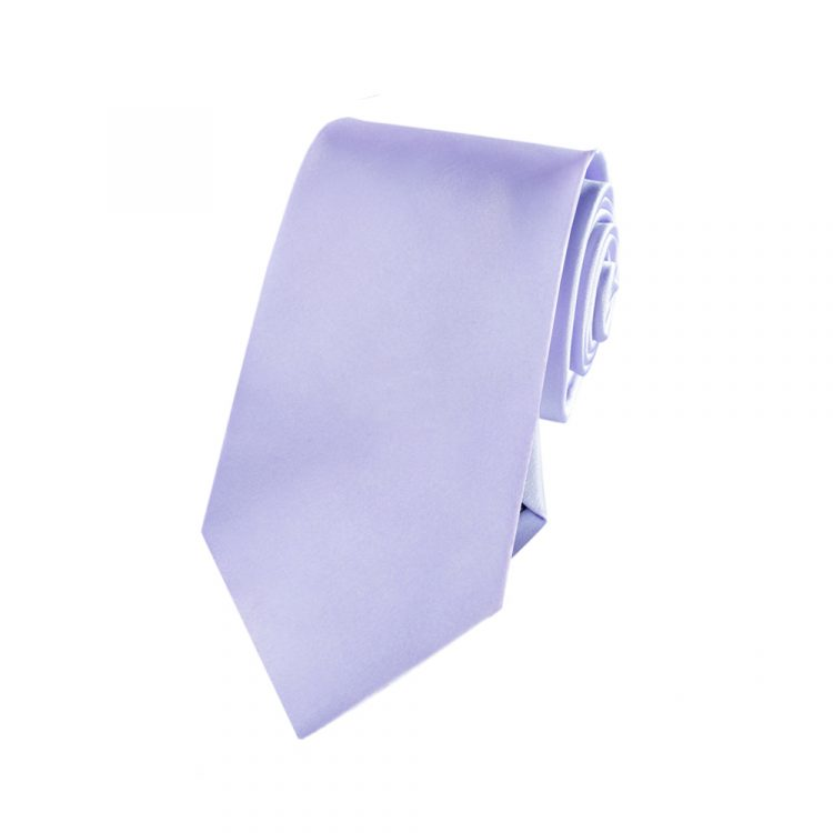Boys Lavender Lilac Purple Tie