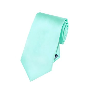 Boys Light Mint Green Tiffany Tie