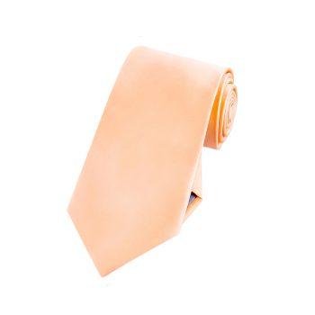 Boys Peach Apricot Tie