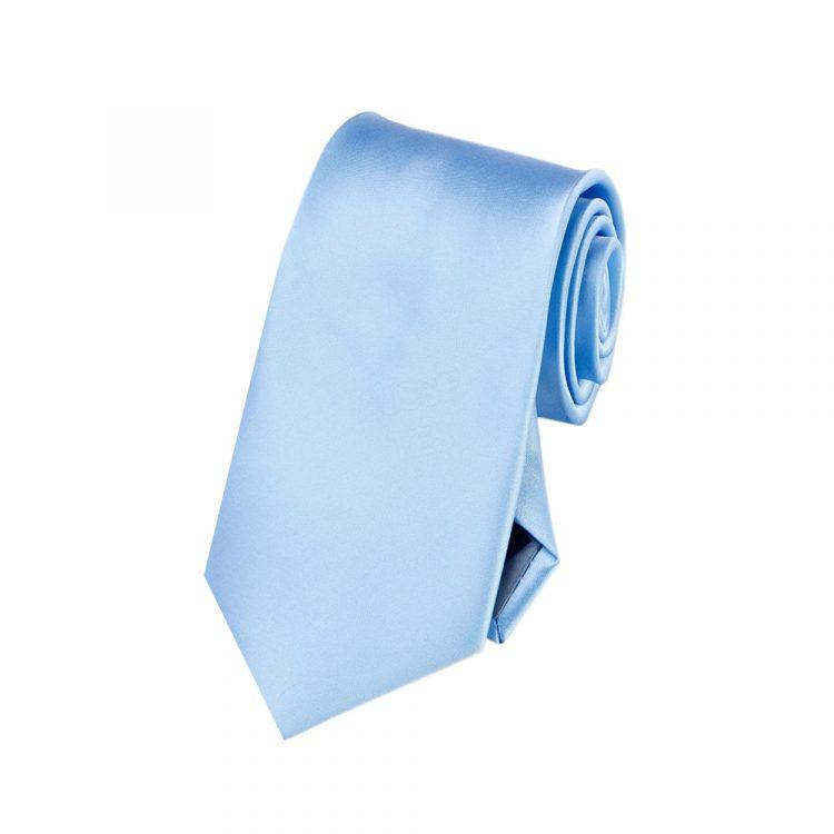 Boys Sky Baby Blue Tie