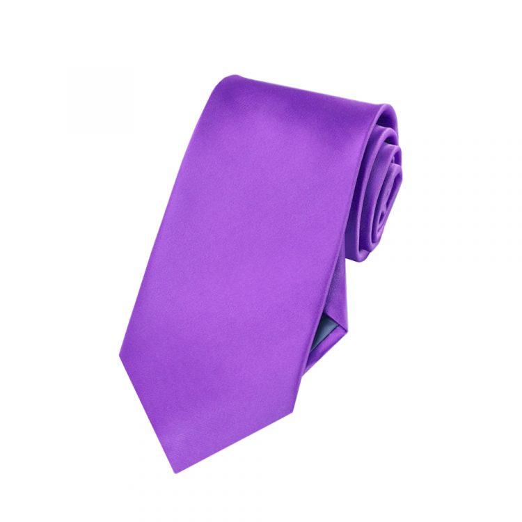 Boys Violet Purple Tie