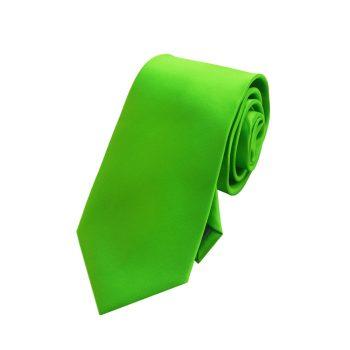 Boys Apple Kelly Green Tie