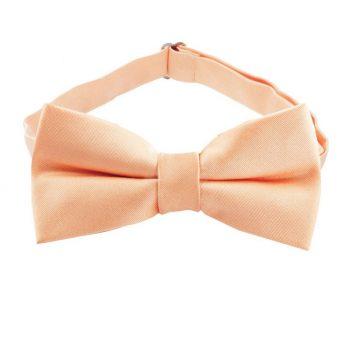 Peach Apricot Boys Bow Tie