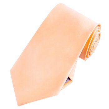 Mens Apricot Peach Coral Tie