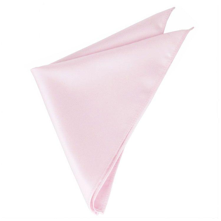Baby Pink Pocket Square