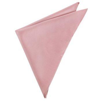 Mens Blush Dusky Pink Handkerchief