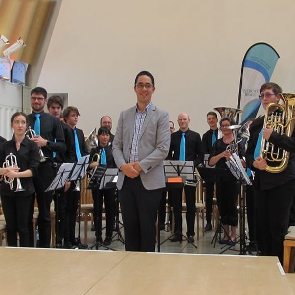 Brass Band Wearing Ties