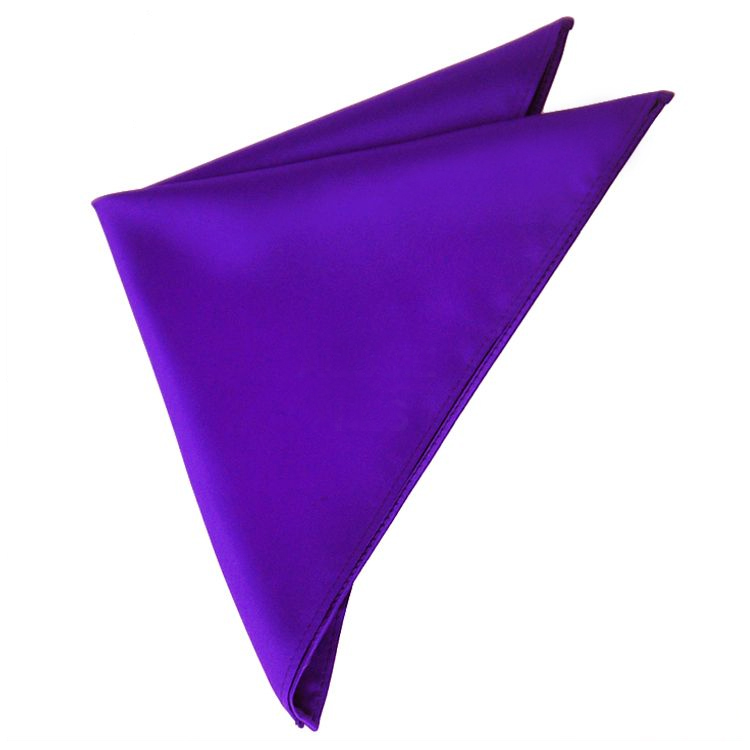 Mens Amethyst Cadbury's Purple Handkerchief