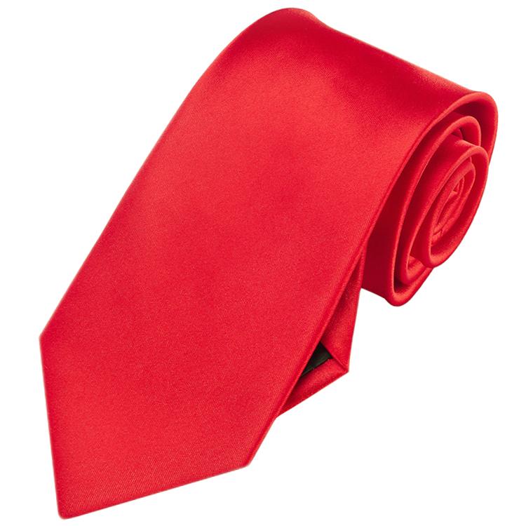 Men's Cherry Red Tie
