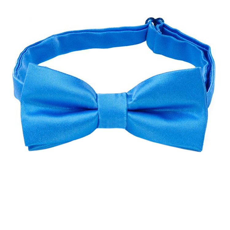 Cobalt Blue Boys Bow Tie