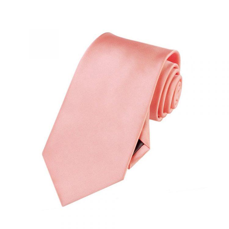 coral boy's tie
