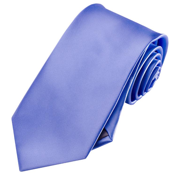 Mens Cornflower Dark Serenity Blue Tie
