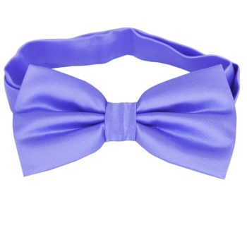 Cornflower Dark Serenity Blue Bow Tie
