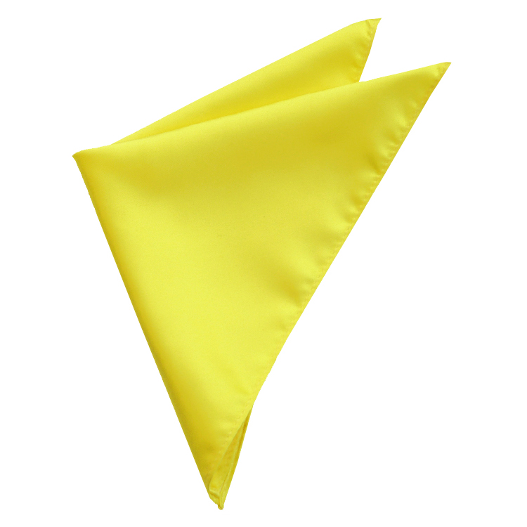 Daffodil Yellow Pocket Square Handkerchief