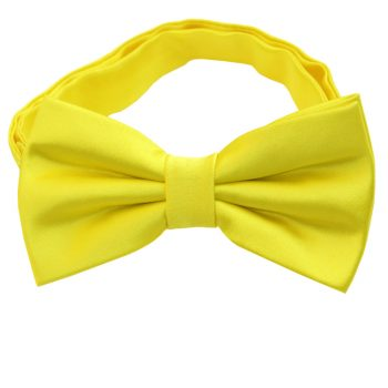 Daffodil Yellow Bow Tie