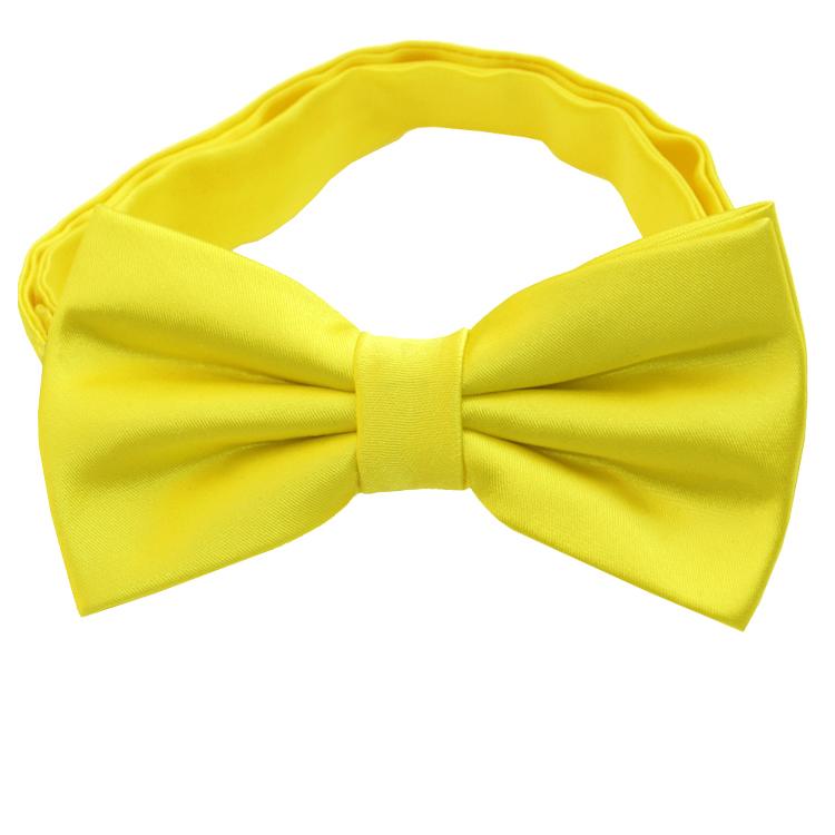 Daffodil Yellow Bow Tie