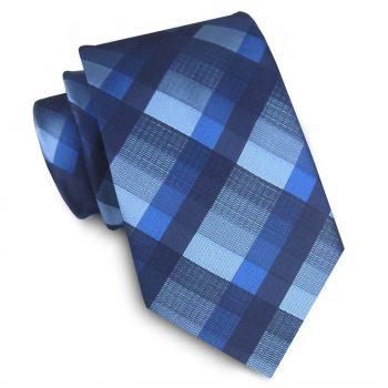 Dark Blue, Mid Blue & Light Blue Diamonds Tie