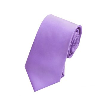 Boys Dark Lavender Purple Tie