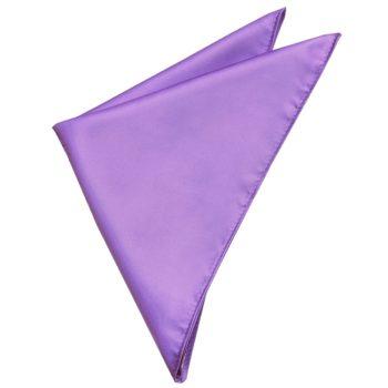 Mens Dark Lavender Pocket Square  Handkerchief