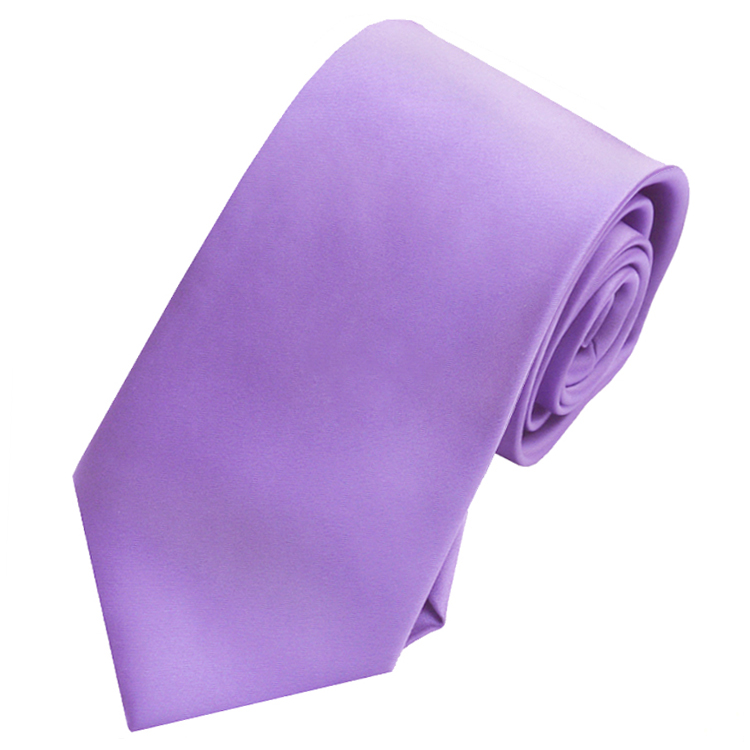 Mens Dark Lavender Purple Tie