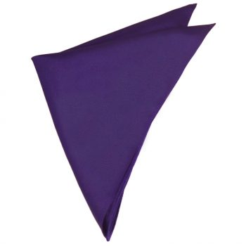 Mens Dark Purple Pocket Square