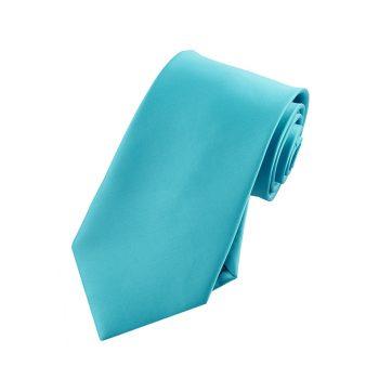 Boys Dark Turquoise Aqua Tie