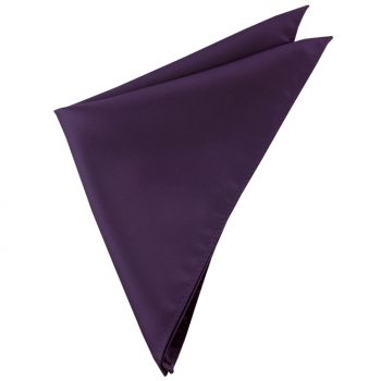 Mens Eggplant Aubergine Purple Handkerchief