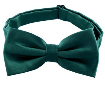 Forest Dark Green Bow Tie