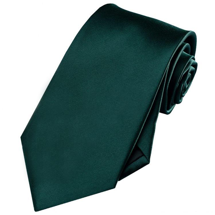 Men's Forest Dark Green Tie